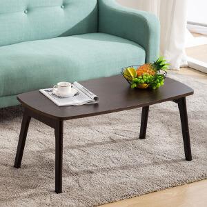 茶几 家用小户型客厅木质桌子北欧现代简约风格迷你餐桌简易折叠电脑笔记本桌儿童学习桌客厅家具