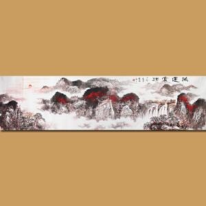 云南省美术家协会会员徐茂林先生作品――鸿运当头