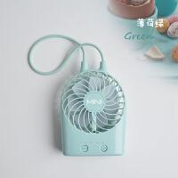 【满99减50】物有物语 风扇 迷你可充电 吊绳USB手持台式小风扇宿舍便携电扇手提随身电风扇