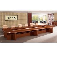 实木贴皮会议桌SY-HY060