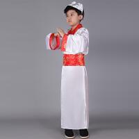 儿童古装汉服国学服服装书童 幼儿园表演三字经弟子规孔子演出服