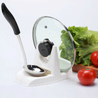 振兴 双用多功能厨房锅盖架 汤勺架 塑料置物收纳整理架
