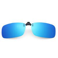 户外运动偏光墨镜夹片式太阳镜近视眼睛开车夜视驾驶蛤蟆钓鱼眼镜男女