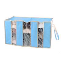 木晖 竹纤维衣物整理袋 除味视窗收纳箱65L