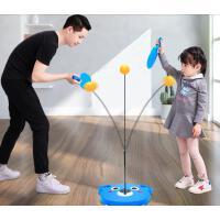 �和�玩具益智多功能乒乓球拍球�男孩室�冗\���力球
