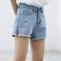 牛仔短裤女夏高腰宽松显瘦阔腿牛仔裤2018新款潮韩版学生百搭热裤