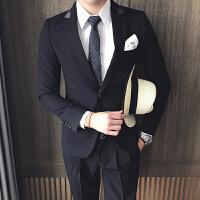 新郎结婚西服套装男韩版修身西装外套英伦休闲正装套装男礼服
