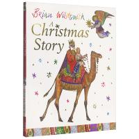 现货正版 圣诞故事 英文原版绘本 A Christmas Story 凯特格林纳威大奖作者 Brian Wildsmit