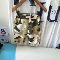 男童迷彩短裤夏装2018新款童装儿童沙滩裤子男孩休闲裤热裤