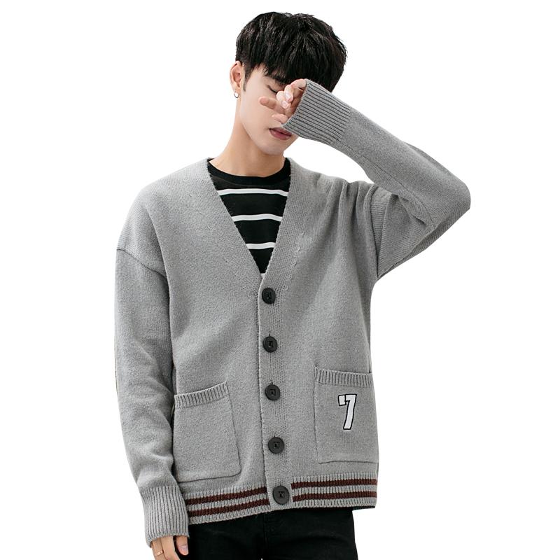 针织开衫男春秋薄款外套男士休闲纯色毛衣修身线衣韩版潮流羊毛衫 发货周期:一般在付款后2-90天左右发货,具体发货时间请以与客服协商的时间为准