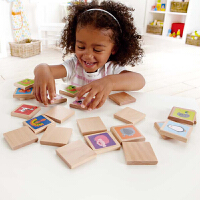 【特惠】Hape动物记忆牌游戏3岁以上早教益智棋牌桌游多人互动 考验记忆游戏 E1012