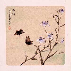 韦戴觉是《春韵》Y7100