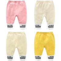 女童婴儿裤子新款女宝宝打底裤5-2-7个月韩版儿童装春秋装