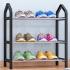索尔诺简易鞋架 多层家用收纳鞋柜简约现代经济型组装防尘鞋架子K323