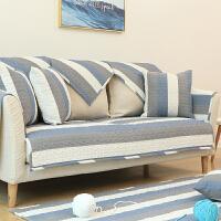 北欧纯棉沙发垫子布艺坐垫四季通用全棉防滑简约
