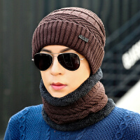 时尚帽子男冬天防寒毛线帽加厚针织秋冬季棉帽保暖潮青年韩版冬季男士