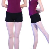 户外成人舞蹈裤女黑色三分短裤现代民族芭蕾练功裤防走光打底裤安全裤