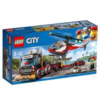 【当当自营】乐高(LEGO)积木 城市组City 玩具礼物5-12岁 重型直升机运输车 60183
