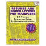 【预订】Resumes & Cover Letters for Managers