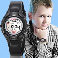 时尚韩版儿童手表女孩男孩防水夜光小学生手表女童运动电子表