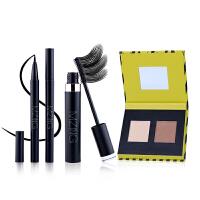 MZING 韩国智能彩妆套装 眼线笔 睫毛膏 高光修容粉彩妆3件套 防水纤长 不晕染