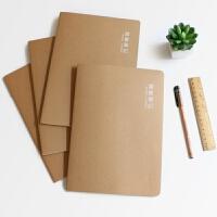 苏铁时光16K创意日记本学生读书笔记本学习记录本B5大号加厚本子 10本一包