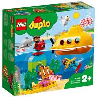 【当当自营】LEGO乐高积木玩具得宝DUPLO系列10910 潜艇大冒险