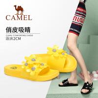 Camel/骆驼2019夏季新款 俏皮花瓣 绽放时尚 凉拖女