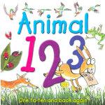 Animal 123 认小动物学数数 ISBN 9780753419595