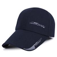 帽子男士秋冬季新款户外韩版潮鸭舌帽运动遮阳棒球帽防晒钓鱼帽子