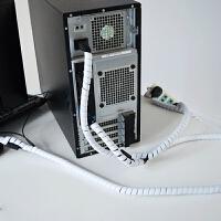 缠绕包线管 电线收纳整理装饰束线 电脑电源线 绕线理线器防咬管