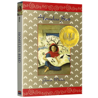 正版现货 无家可归的小鸟 英文原版小说 Homeless Bird 全英文版 美国青少年文学图书奖儿童文学书 进口英语书