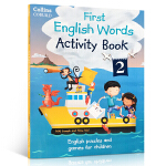Collins First English Words Activity Book 2: Age 3-7 科林斯英语单