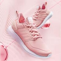 361女鞋运动鞋秋季新款361度官方女士革面跑步鞋学生休闲小白鞋
