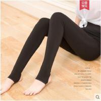 秋冬季加绒加厚修身显瘦黑色连裤袜紧身保暖裤打底袜裤中厚款丝袜