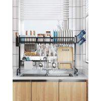 厨房置物架放碗架多功能水槽洗碗池沥水架碗碟收纳架用品家用大全