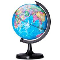 得力地球仪 全塑办公学生地理教学用品 直径20cm 3033 包邮