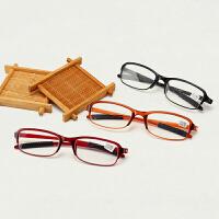 老花镜男女舒适优雅TR90超轻树脂时尚简约不易折断老花眼镜