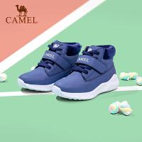 骆驼儿童冬季鞋棉鞋男童加绒宝宝鞋子冬鞋暖鞋秋季大童运动鞋潮