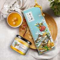 【领券下单,立减5元】李子柒 长白山参蜜椴树蜜人参蜜东北蜂蜜蜂蜜3瓶 礼盒装