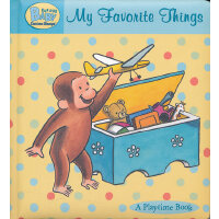 Curious Baby My Favorite Things (Curious George Padded Board Book)好奇宝宝:我最喜欢的东西(卡板书)ISBN9780547428932