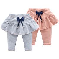 女童婴儿裤子新款女宝宝打底裤3-7-1个月韩版儿童装春秋装
