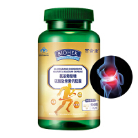 【百合康】氨基葡萄糖硫酸软骨素钙胶囊 0.5g/粒*100粒