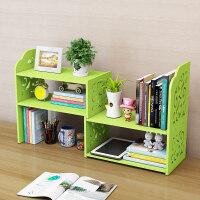 创意电脑桌上书架伸缩桌面书柜儿童简易置物架小型办公收纳架简约 p1n