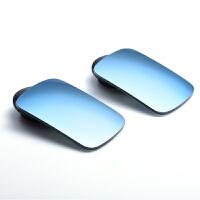 后视镜小圆镜蓝光防炫目360度无边框可调盲区镜蓝镜汽车倒车镜