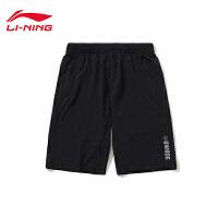 李宁运动短裤男士2019新款韦德系列夏季梭织运动裤AKSP485