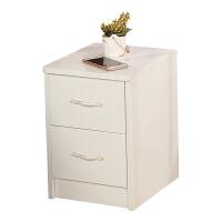 新款迷你床头柜简约现代小型小尺寸卧室窄25厘米30cm35白色 B款40宽白色 组装
