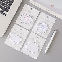 韩国创意可爱小清新单词本便利贴学生用便携标签贴小便签本子6本