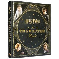哈利波特电影人物设定集 英文版原版 Harry Potter: The Character Vault 英文原版周边书