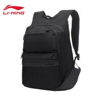 李宁双肩包男包2019新款运动时尚系列背包书包学生运动包ABSP037